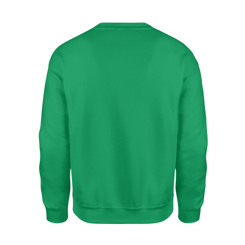 Personalized St. Patrick Gift Idea - Funny Mr. Bulldog - Standard Crew Neck Sweatshirt