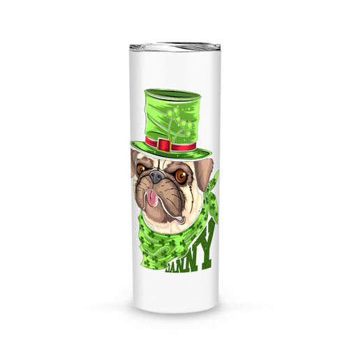Personalized St. Patrick Gift Idea - Coolest Mr. Bulldog - Tumbler
