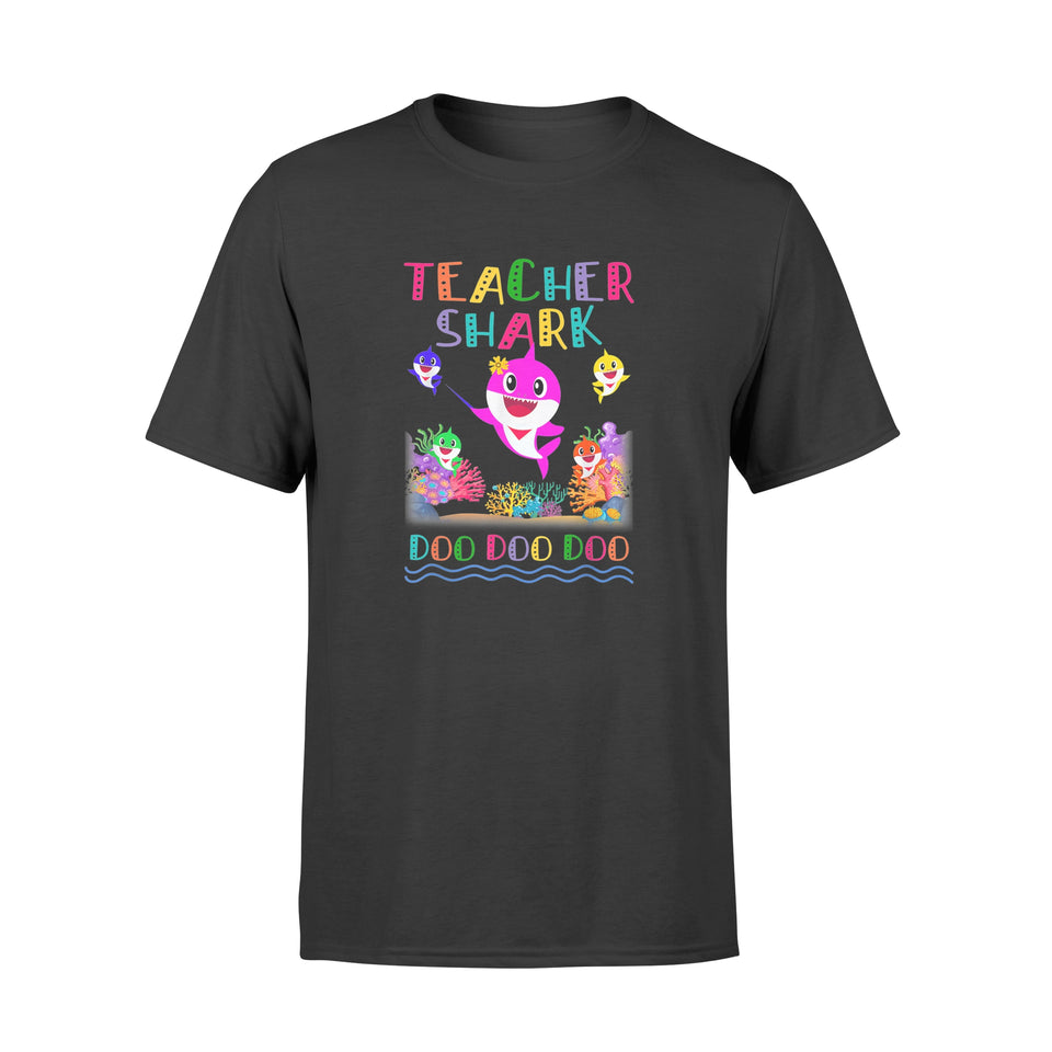 Teacher Shark Doo Doo Doo Gift - Premium T-shirt