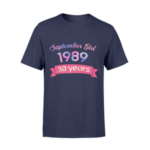 Birthday Gift Idea TS 1989 30 Years Old Flower - Standard T-shirt