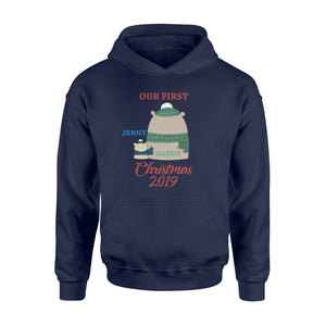 Personalize Christmas Gift Idea Our First Holiday 2019 - Standard Hoodie