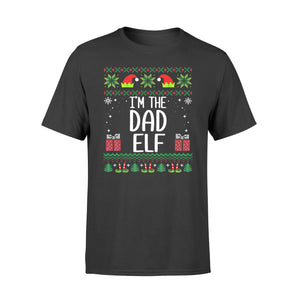 Christmas gift idea Mens Mens I'm The Dad Elf Outfit Matching Xmas Family T-Shirt - Standard T-shirt