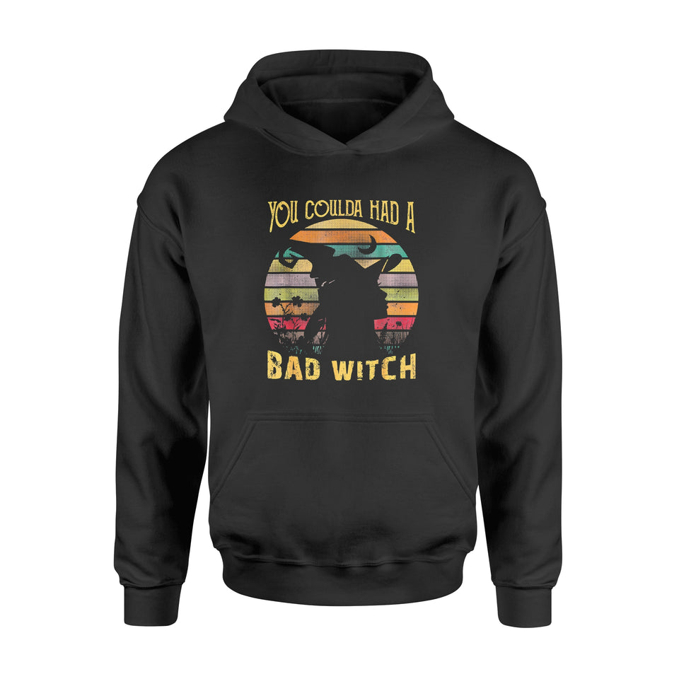 Halloween Gift Idea You Could Had A Bad Witch Funny Awesome - Standard Hoodie
