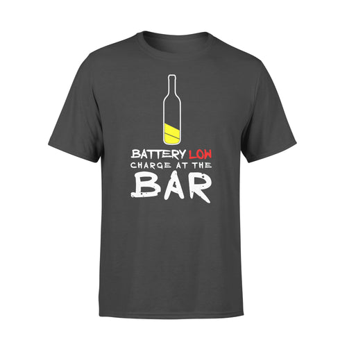 Funny Gift Idea Beer Drinking Charge At The Bar - Standard T-shirt