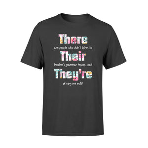 Grammar Teacher Shirts There Their They're - Standard T-shirt