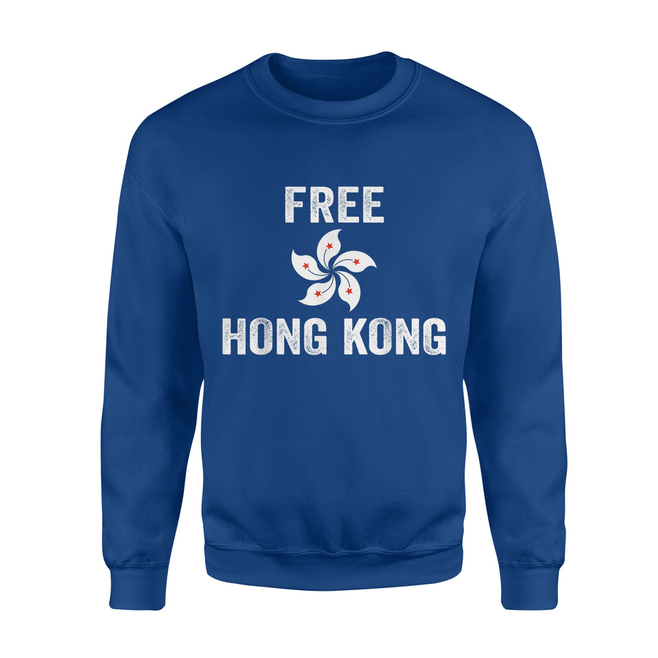 Support Free Hong Kong Democracy Protest - Standard Fleece Sweatshirt
