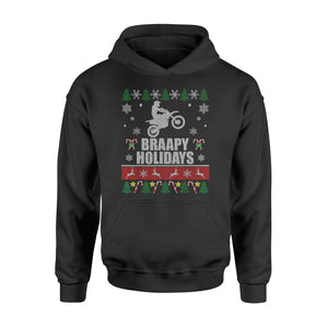 Christmas Gift Idea - Braapy Holidays Motocross - Standard Hoodie