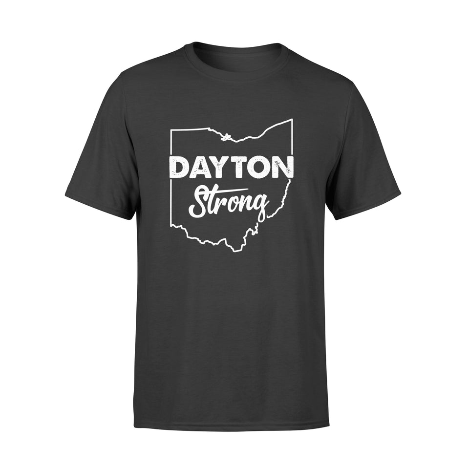 Roll Over Image To Zoom In Ohio - American Flag Gifts Dayton Strong - Ohio lover Gifts - Standard T-shirt