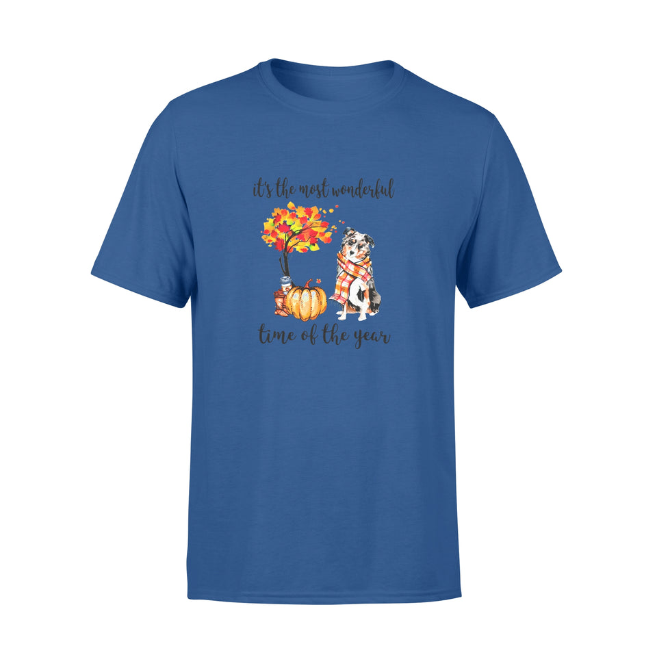 Fun Gift Idea The Most Wonderfull Time Of The Year Aussie Autumn - Standard T-shirt
