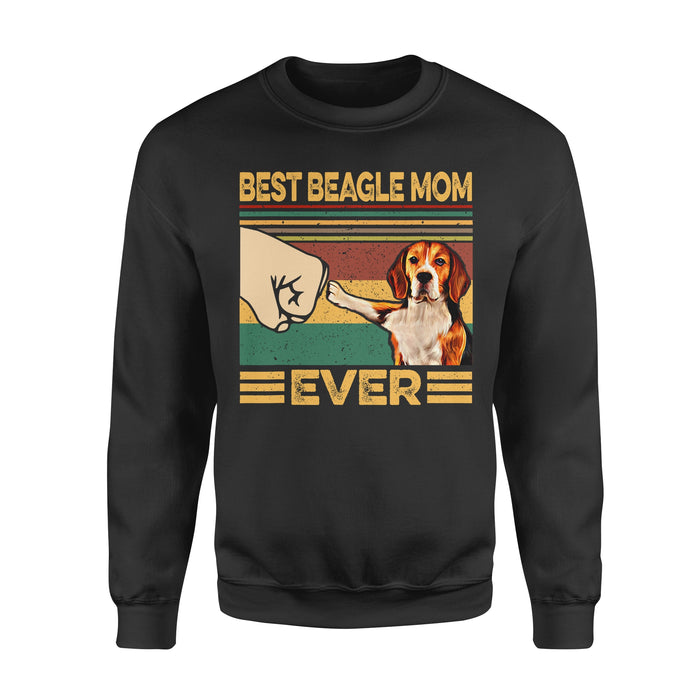 Dog Gift Idea - Best Beagle Mom Ever For Mom - Standard Crew Neck Sweatshirt