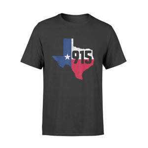 El Paso Area Code 915 Phone Number Texas Souvenir Gift - Standard T-shirt