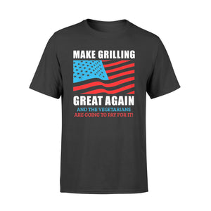 Make Grilling Great Again Trump Bbq Pit Master Dad - Standard T-shirt