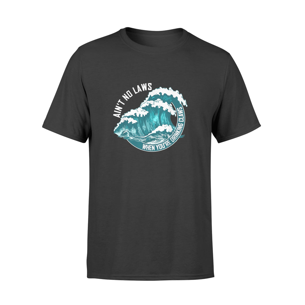 Ain't No Laws Shirts When Drinking Claws Summer Tee - Premium T-shirt