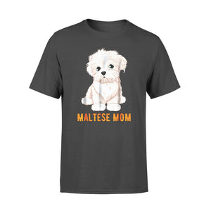 Dog gift idea Lovers Maltese Ideas Face T-Shirt - Standard T-shirt