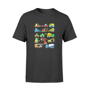 Son gift idea Construction Excavator T-Shirt - Standard T-shirt