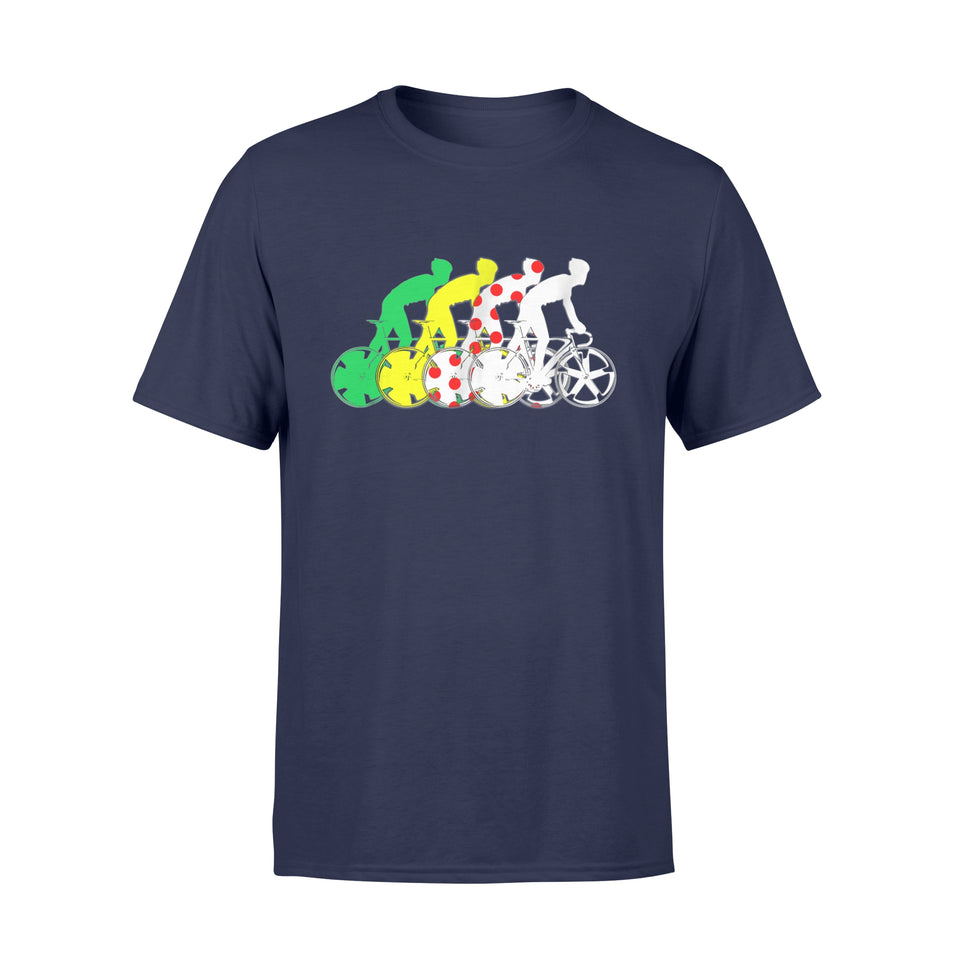 Tour France Race Jerseys Colours T-Shirts - Standard T-shirt