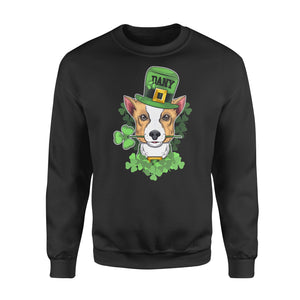 Personalized St. Patrick Gift Idea - Coolest Chihuahua - Standard Crew Neck Sweatshirt