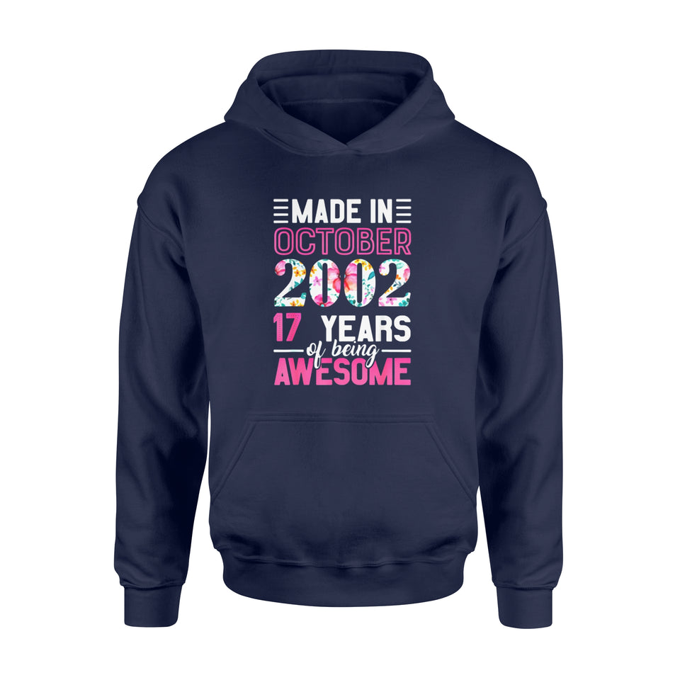 Birthday Gift Idea Made in October 2002 17th - Standard Hoodie
