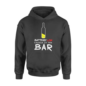 Funny Gift Idea Funny Beer Drinking Charge At The Bar Alcohol Shirt For Men - Standard Hoodie