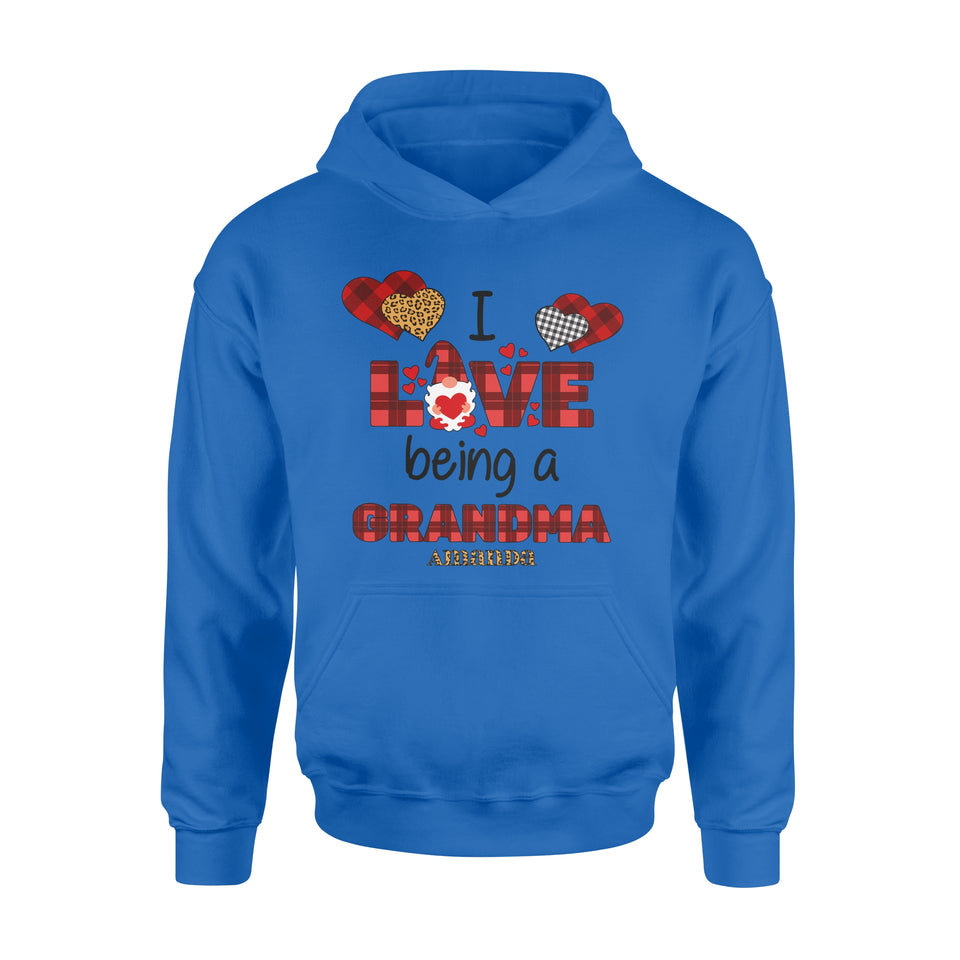 Personalized Love Gift Idea - I Love Being A Grandma - Standard Hoodie