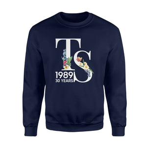Birthday Gift Idea TS 1989 Flower - Premium Fleece Sweatshirt
