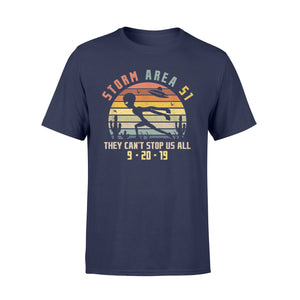 Storm Area 51 They Can't Stop Us All T-Shirt - Standard T-shirt