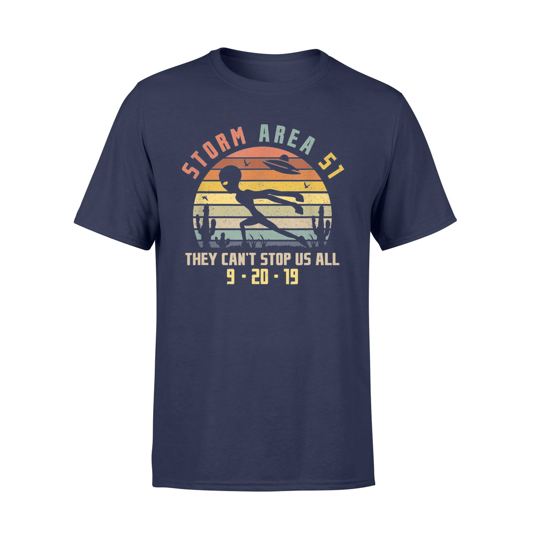 Storm Area 51 They Can't Stop Us All - Standard T-shirt