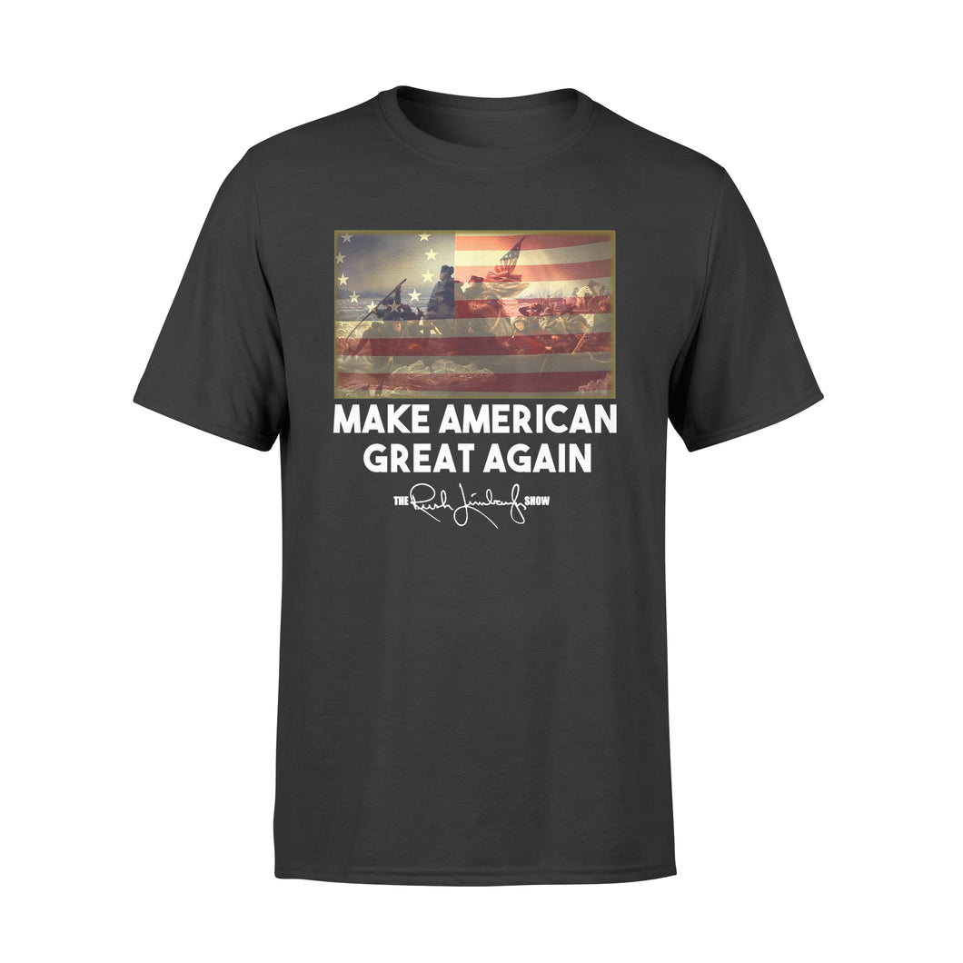 Rush Betsy Ross Make American Great Again T Shirt - Standard T-shirt