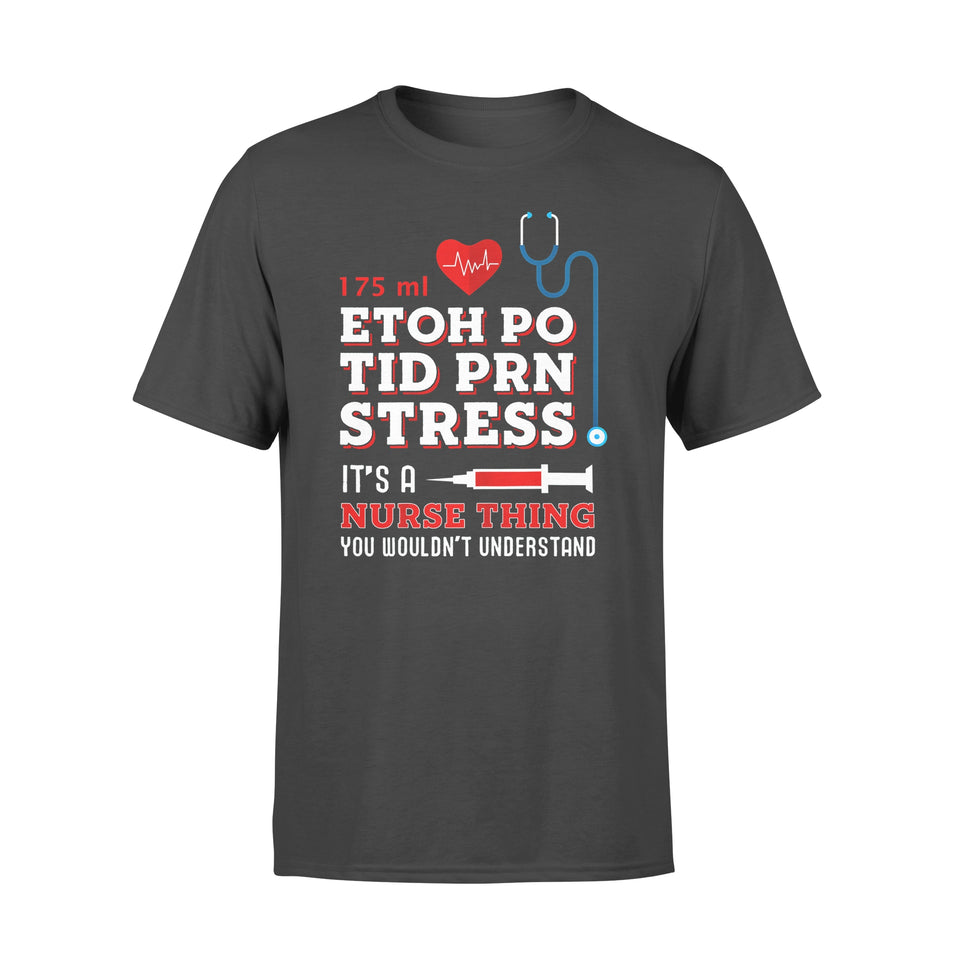 Nurse Gift Idea Funny Registered Nurse Saying Quote - Standard T-shirt