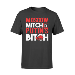 Moscow Mitch Putin's Bitch Russia Red Turtle Meme - Standard T-shirt
