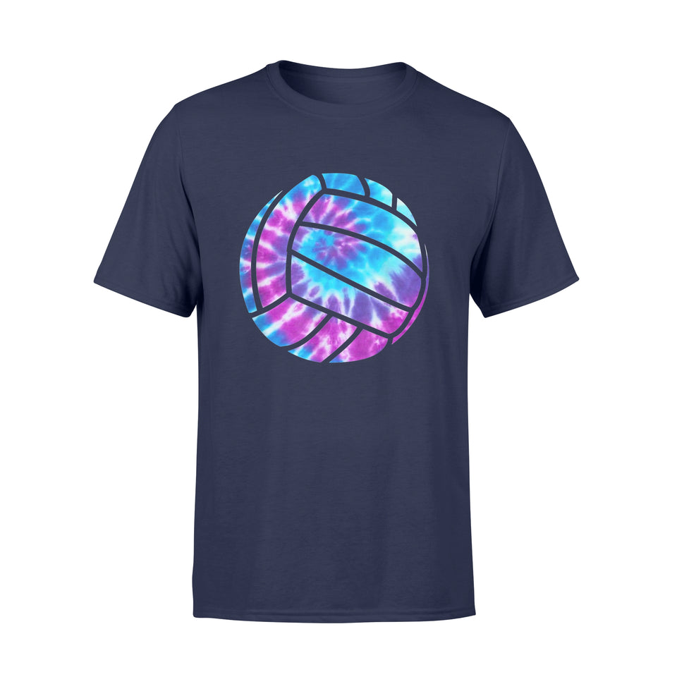 Volleyball Tie Dye Shirt Blue Purple Teenage Girls T-Shirt - Standard T-shirt