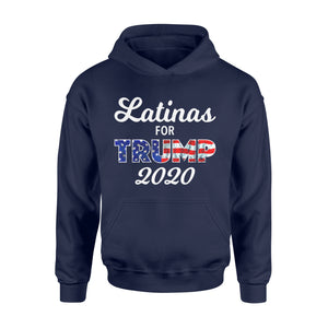 Election 2020 Gift Idea - Womens Latinas For Trump - Standard Hoodie