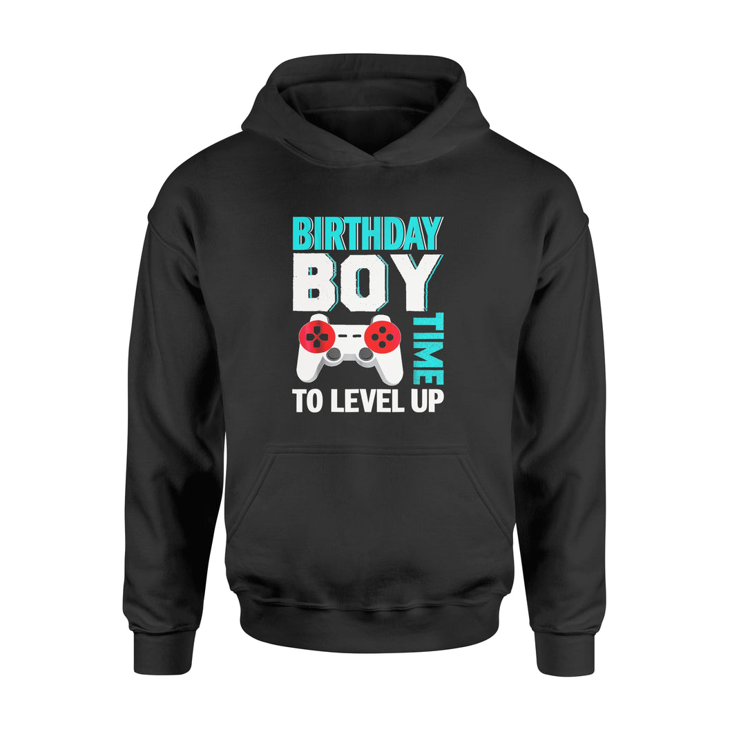 Birthday Boy Video Game Birthday Party T-Shirt - Standard Hoodie