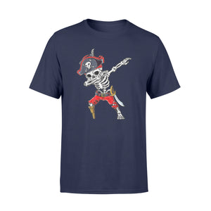 Halloween Dabbing Skeleton Pirate T-Shirt - Standard T-shirt