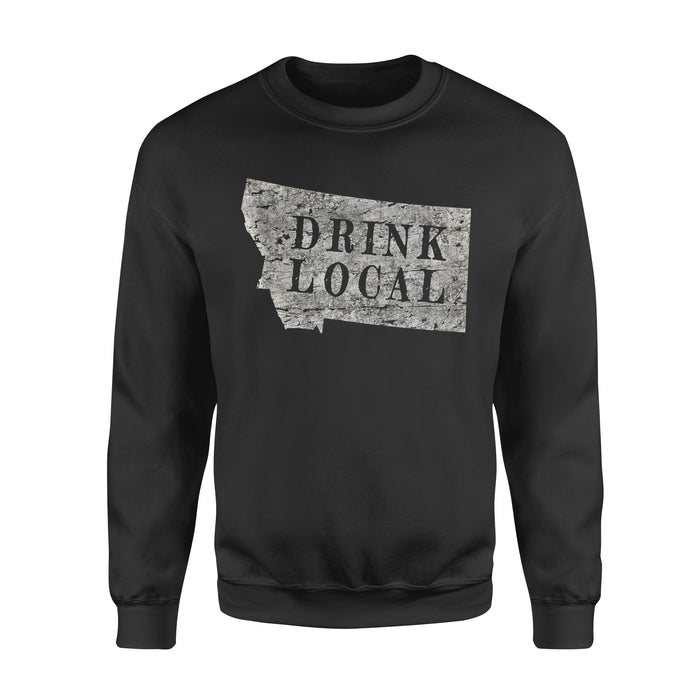 Hobby gift idea Drink Local Craft Beer - Standard Fleece Sweatshirt