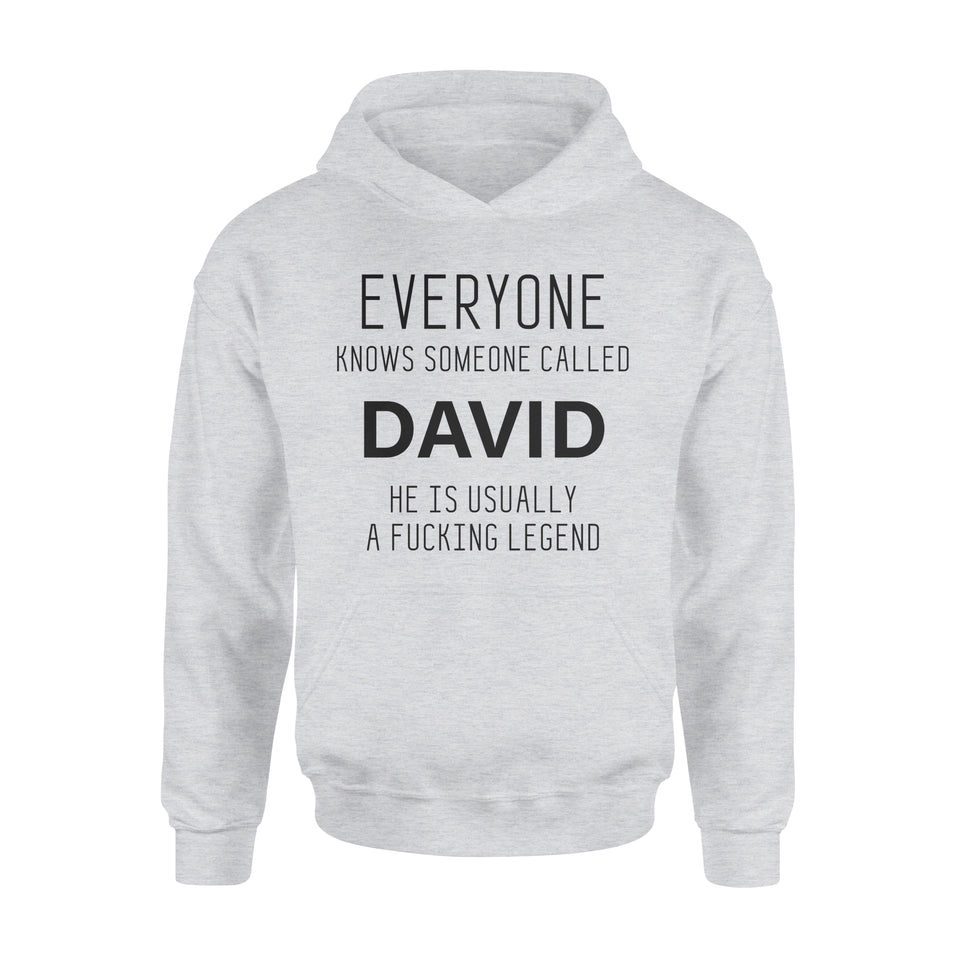 Personalized Hoodie Gift Idea - Everyone Knows Someone Called - Standard Hoodie