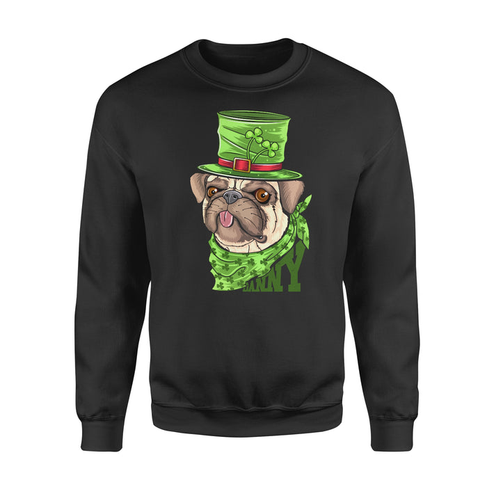 Personalized St. Patrick Gift Idea - Coolest Mr. Bulldog - Standard Crew Neck Sweatshirt