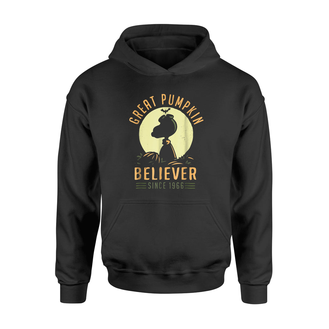 Halloween Gift Idea Peanuts-Great Pumpkin Believer Since 1966 - Standard Hoodie