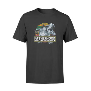 Fatherhood Like A Walk In The Park Dinosaurs - Standard T-shirt