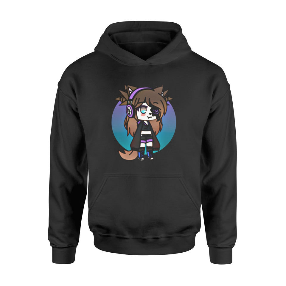 Daughter Gift Idea Cute Chibi Style Kawaii Anime Girl Pillover - Standard Hoodie
