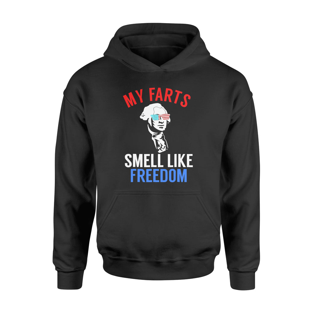 4th of July My Farts Smell Like Freedom T-shirt - Standard Hoodie
