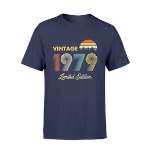 Birthday Gift Vintage 1979 40th Limited Edition - Standard T-shirt
