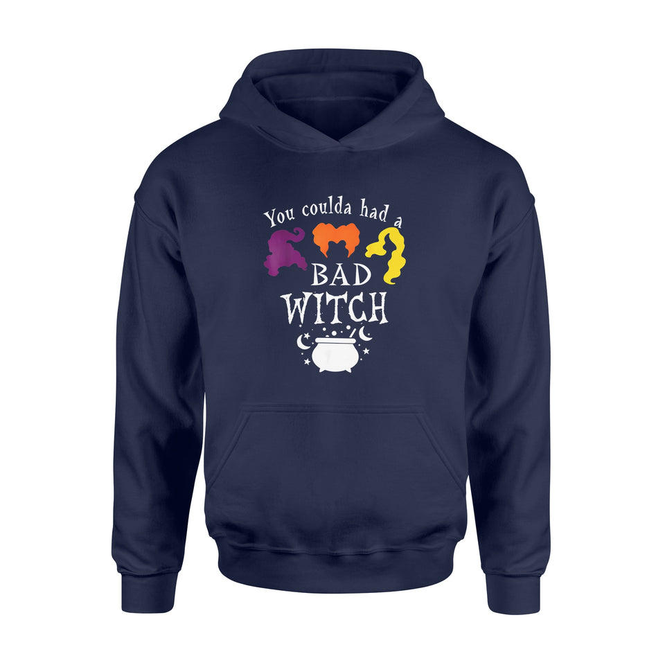 Halloween Gift Idea Vintage You Could Had A Bad Witch - Standard Hoodie
