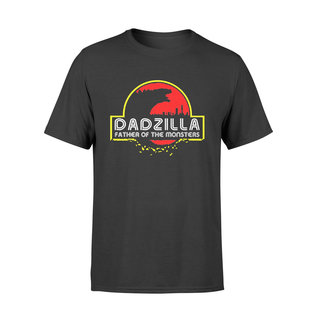 Dad Dinosaurs TShirt Father Of The Monster Zilla For Men - Standard T-shirt