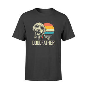 Mens The Doodfather Tshirt Goldendoodle Dad Shirt - Standard T-shirt