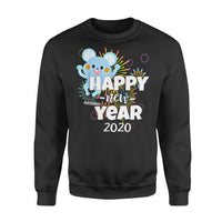 Fun Gift Idea Happy New Year2020 - Standard Fleece Sweatshirt