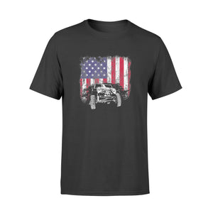 4th of July Jeep US Flag American Offroad Shirts - Standard T-shirt
