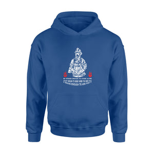 Fireman Gift Idea Be strong enough to stand alone, smart enough to know when you need help & brave enough to ask for it - Standard Hoodie