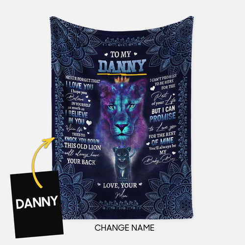 Personalized Blanket Gift Idea - To My Son, Never Forget That For Your Son - Fleece Blanket