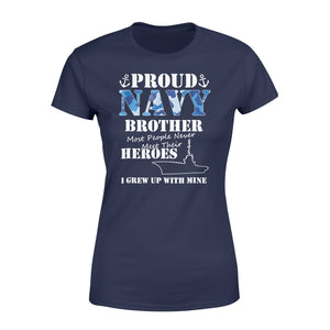 US Military Proud Navy Brothers T-Shirt For Men or Women - Standard Women's T-shirt